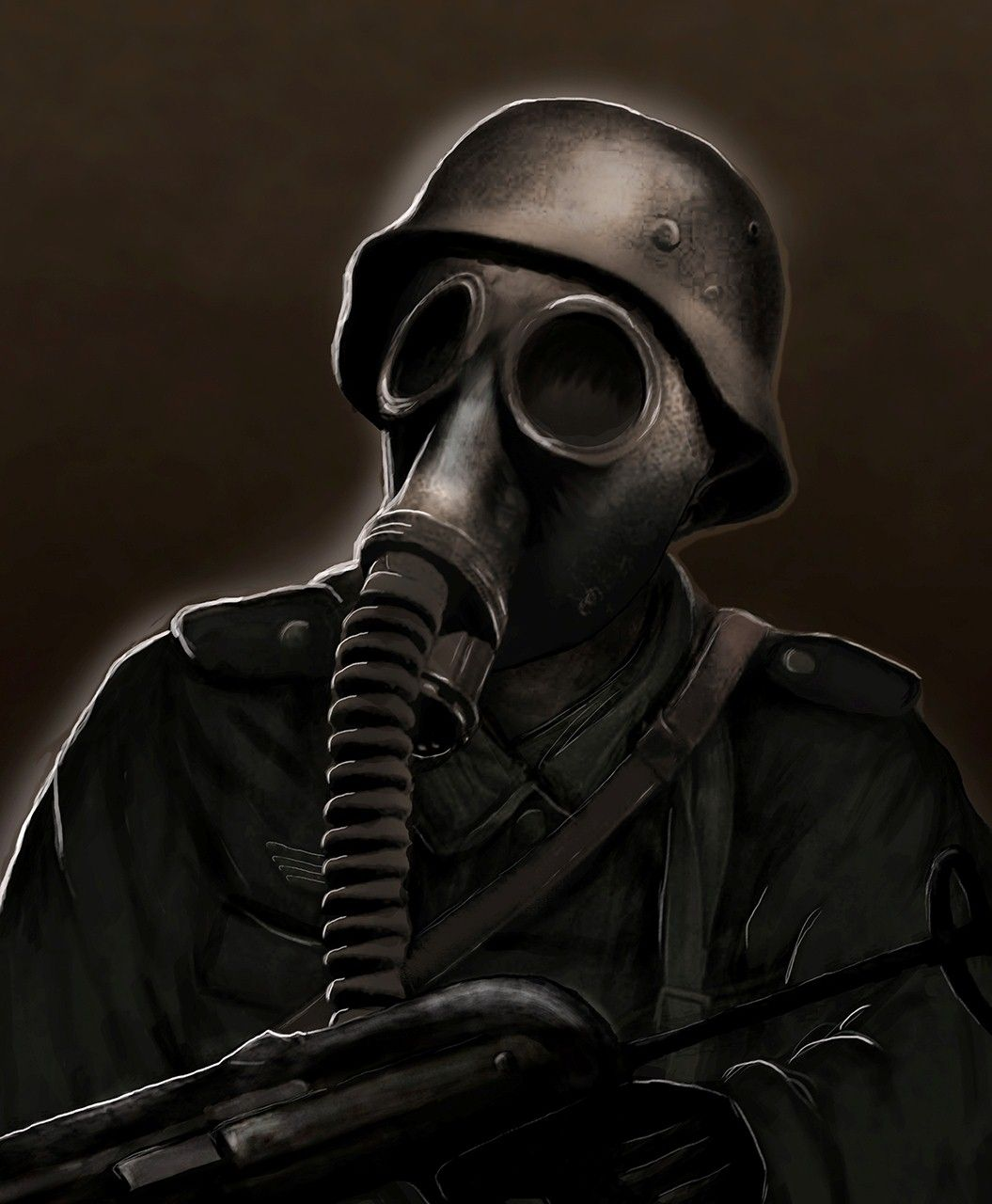 ww2 gas mask drawing - Google Search | Masques | Pinterest ...