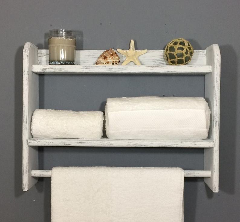 Towel Bar Beach Bathroom Rack
