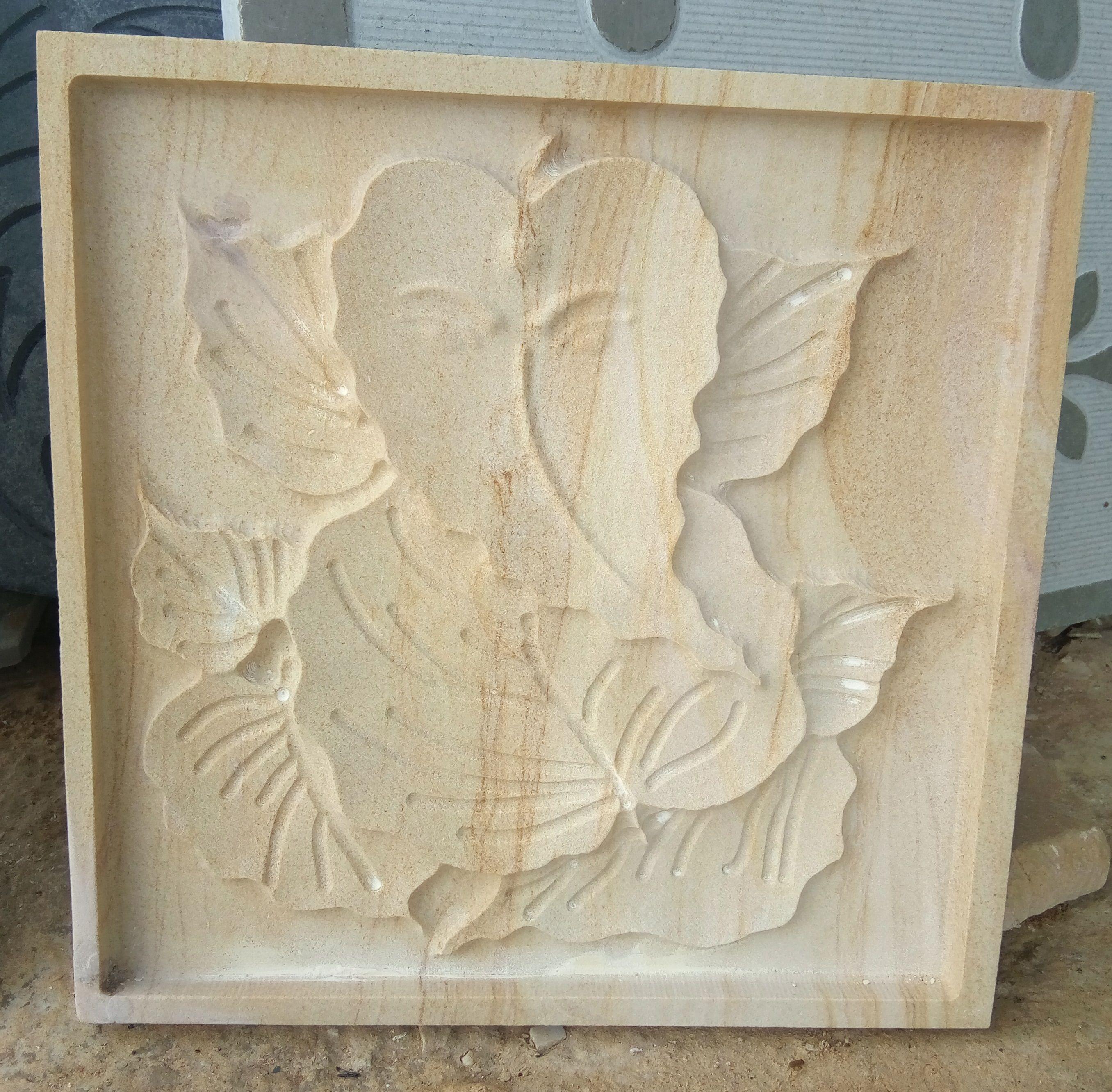Lord Ganesha Made on Teak Sandstone !! CNC Job Work !! | CNC
