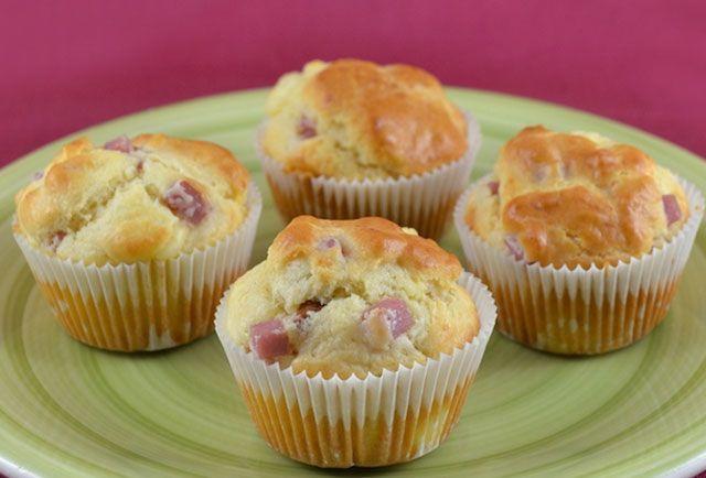 Muffins au Jambon et Kiri WW - Plat et Recette