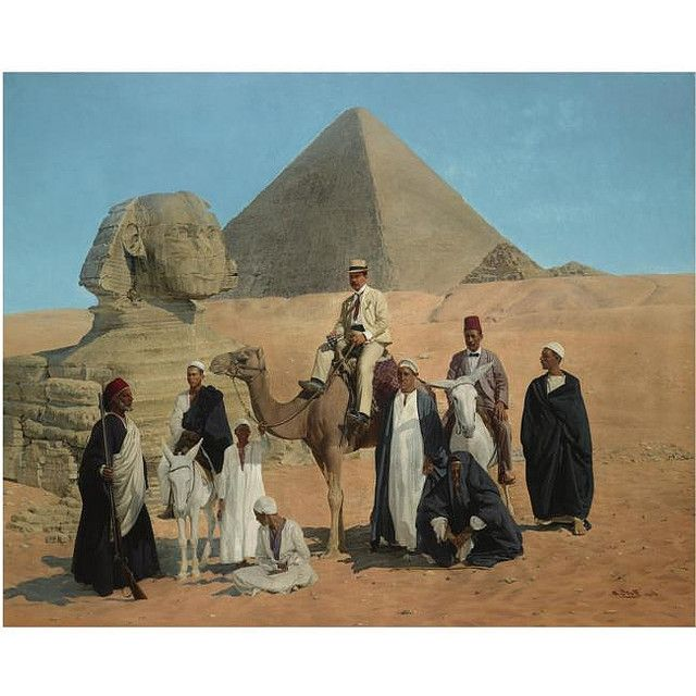 Before the Pyramids by Alois Stoff