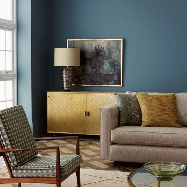 wall color zoffany prussian
