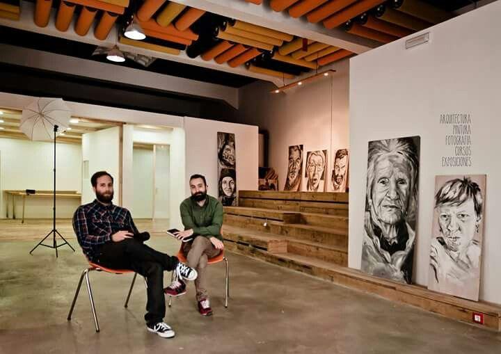 A Fábrica do 13, Coruña. Architecture, gallery of art...