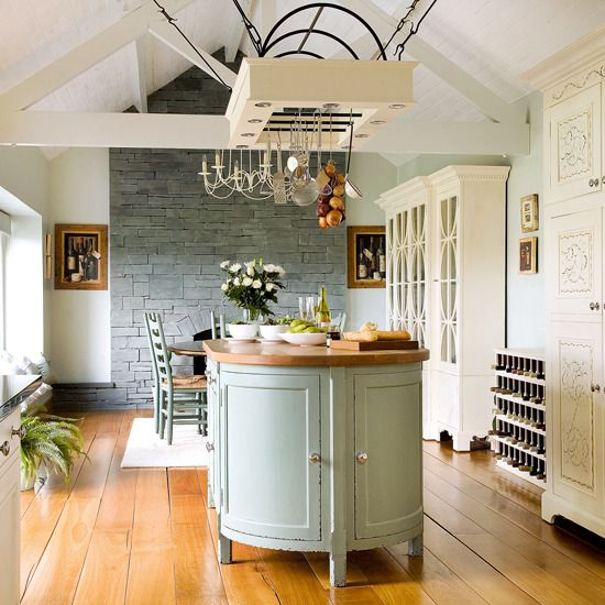Kitchen Dressers - Our Pick of the Best | Hanging pot racks, Pot ...