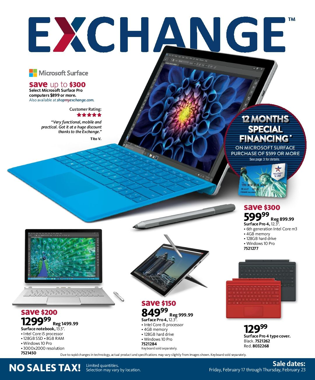 Aafes Weekly Ad February 17 23 2017 Http Www