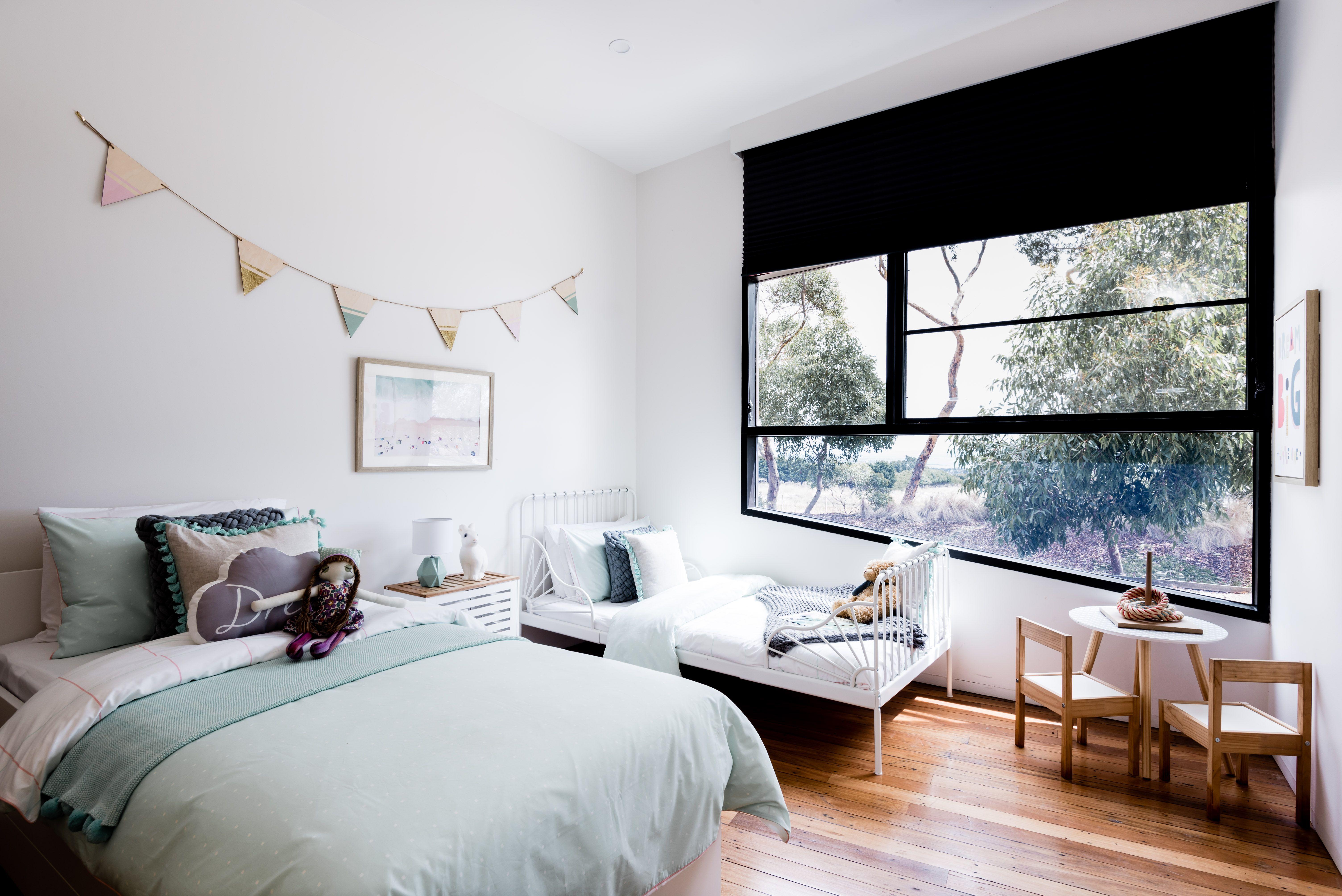Interior design of children's bedroom industrial style drysdale interior design interior styling