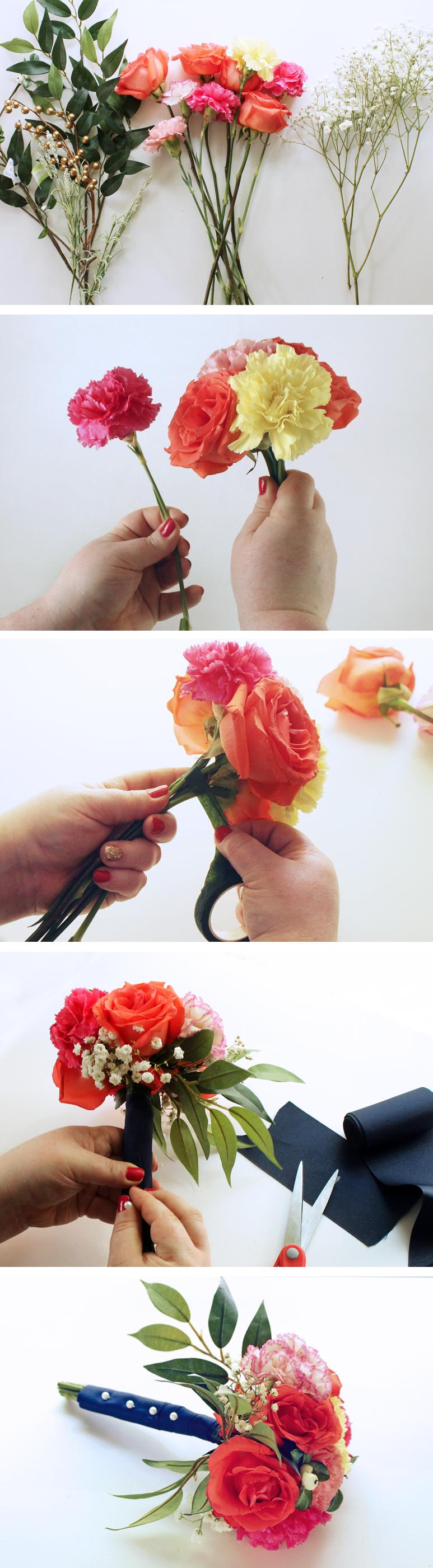 Make Your Own Wedding Bouquet Diy wedding bouquet, Diy