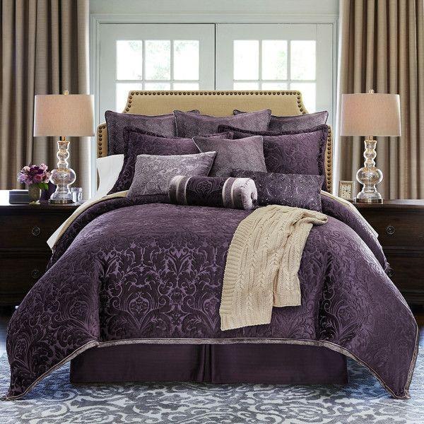 Royal Velvet Fenice 4 Pc Chenille Comforter Set 245 Cad