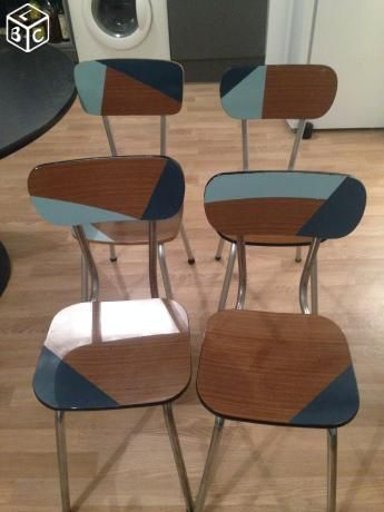 Chaise formica RELOOKING MEUBLE Pinterest Funky furniture