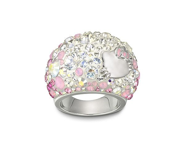 Hello Kitty Chic Anillo - Fashion Jewelry - Boutique Swarovski en línea