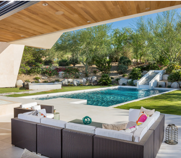 Outdoor Living Space, Luxury Modern Home Decor, Interior