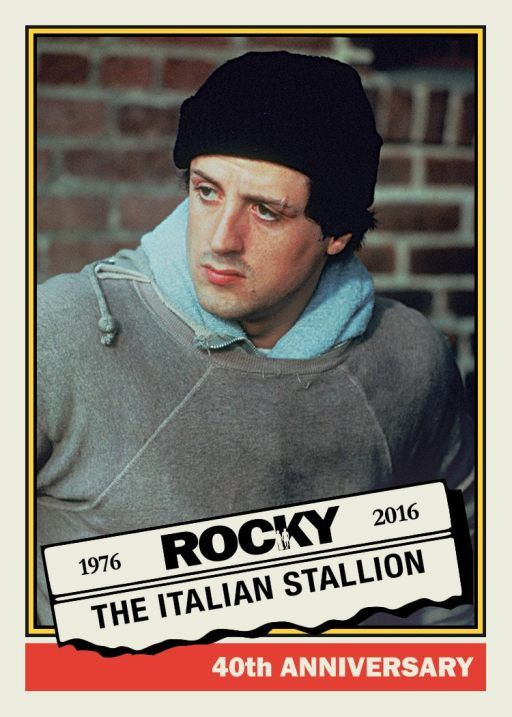 Rocky Balboa is coming to The National … as a Topps promo set