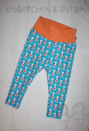 Hosen - Leggings, Baby-Leggings, Gr. 68, Flip Flops - ein Designerstück von knoepfchenundanton bei DaWanda