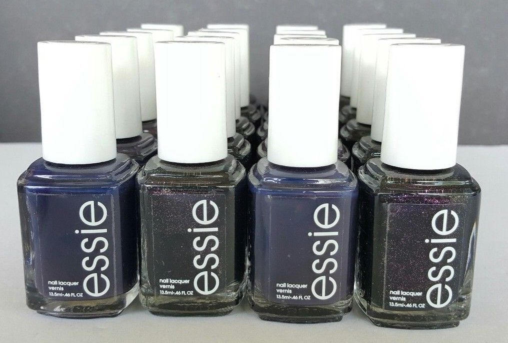 50 ESSIE Wholesale 3 Mini Nail Polish PINK RED baby bridal shower ...
