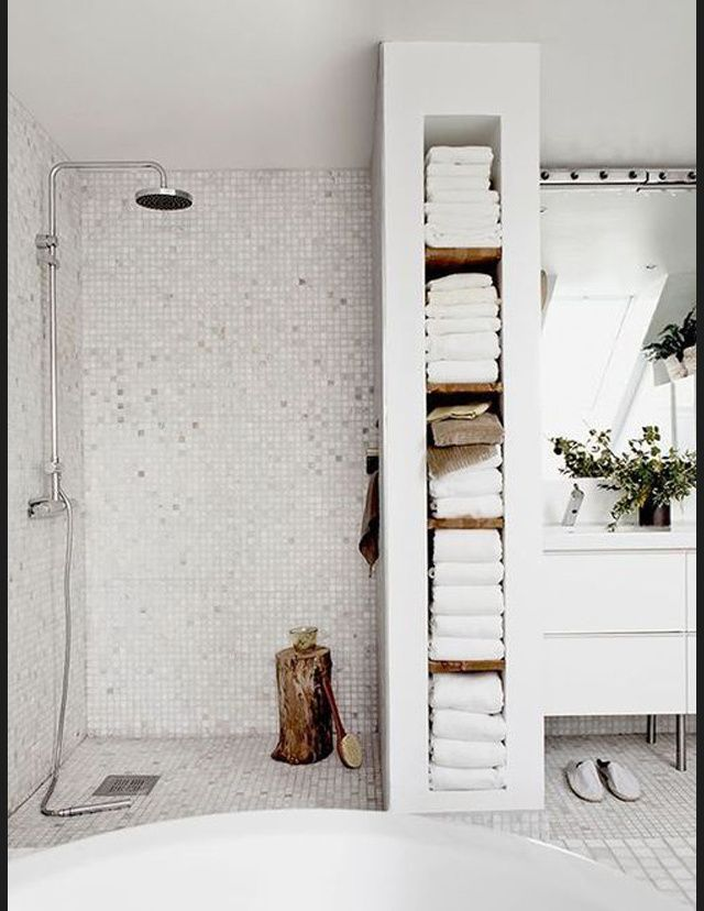 Les plus belles salles de bain de Pinterest Small bathroom