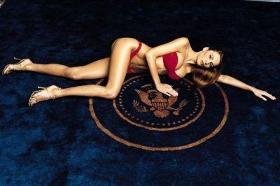 Trump topless melania Melania Trump: