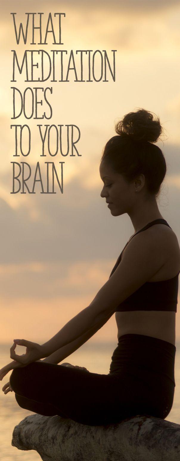 Meditaatio vaikuttaa aivojen toimintaan.