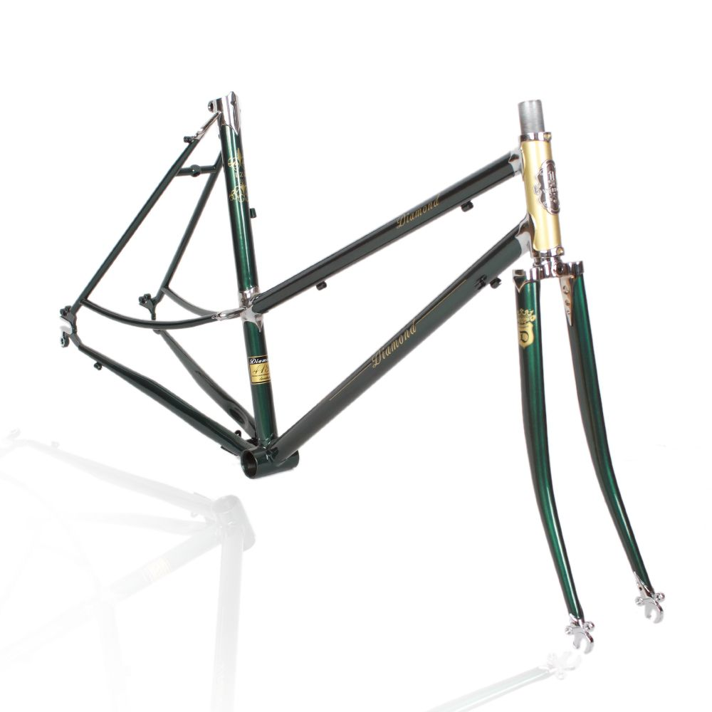 LUG 520 frame chrome-molybdenum steel road Vintage Bicycle Frame ...