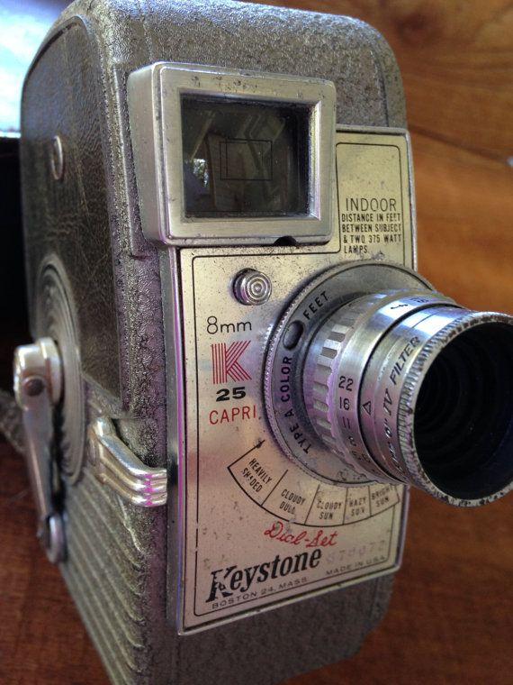 1950's Keystone Capri K25 ~ 8mm Roll Film Movie Camera