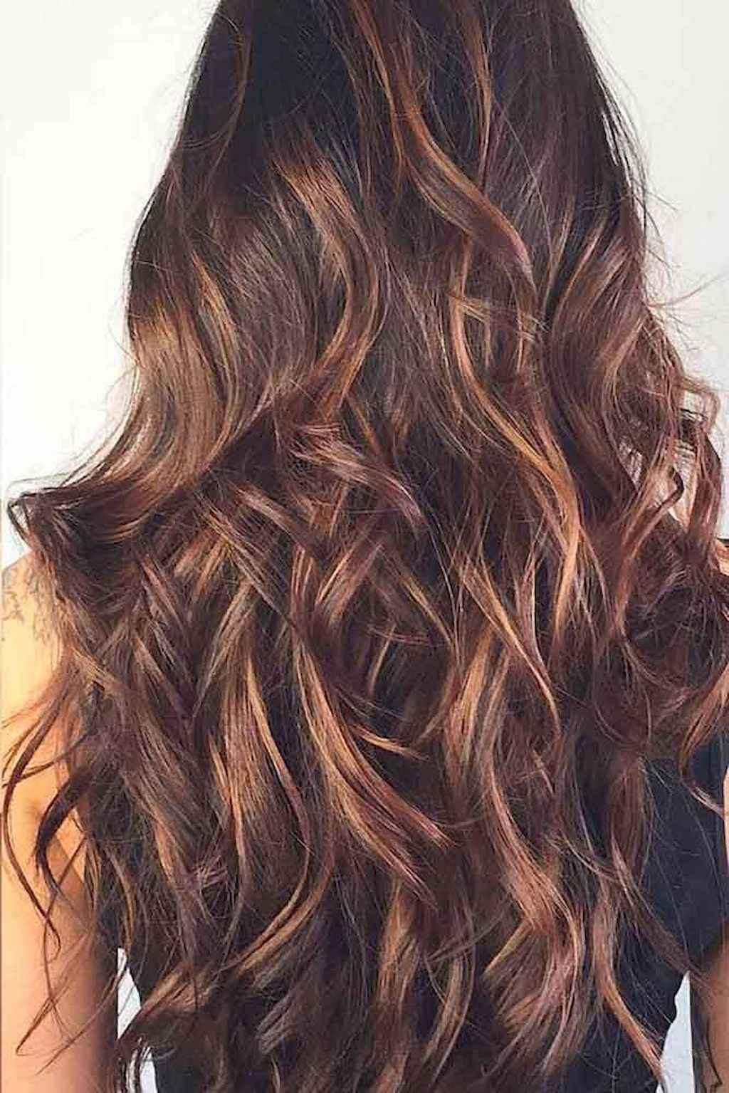 50+ Black hair color ideas with highlights ideas in 2021