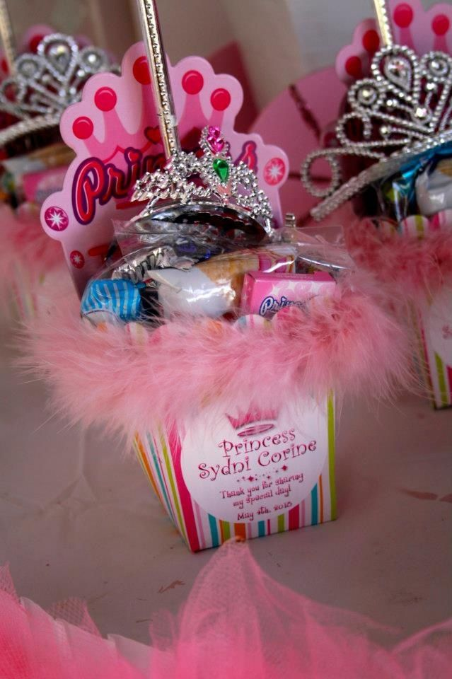 Princess Party Favors Idea