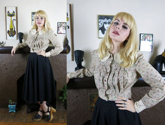 Vintage Victorian Revival Prairie Pin-tuck by SundayGirlFinds