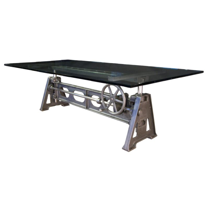 Adjustable Cast Iron Table Base