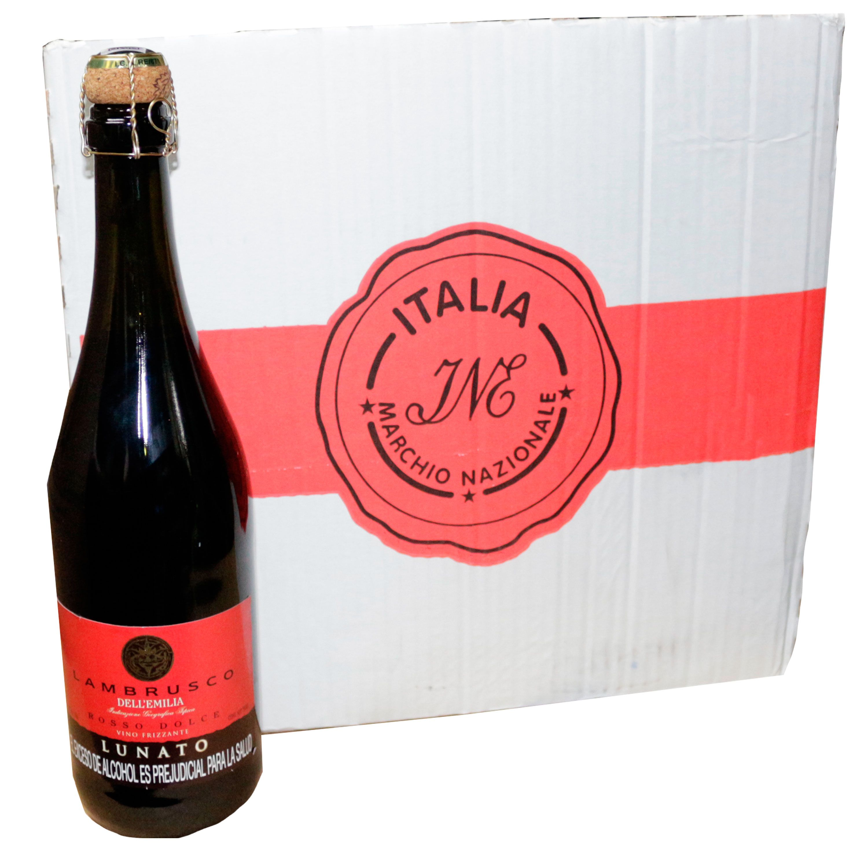 Otro Mas De La Familia Lambrusco Wine Bottle Bottle Wine