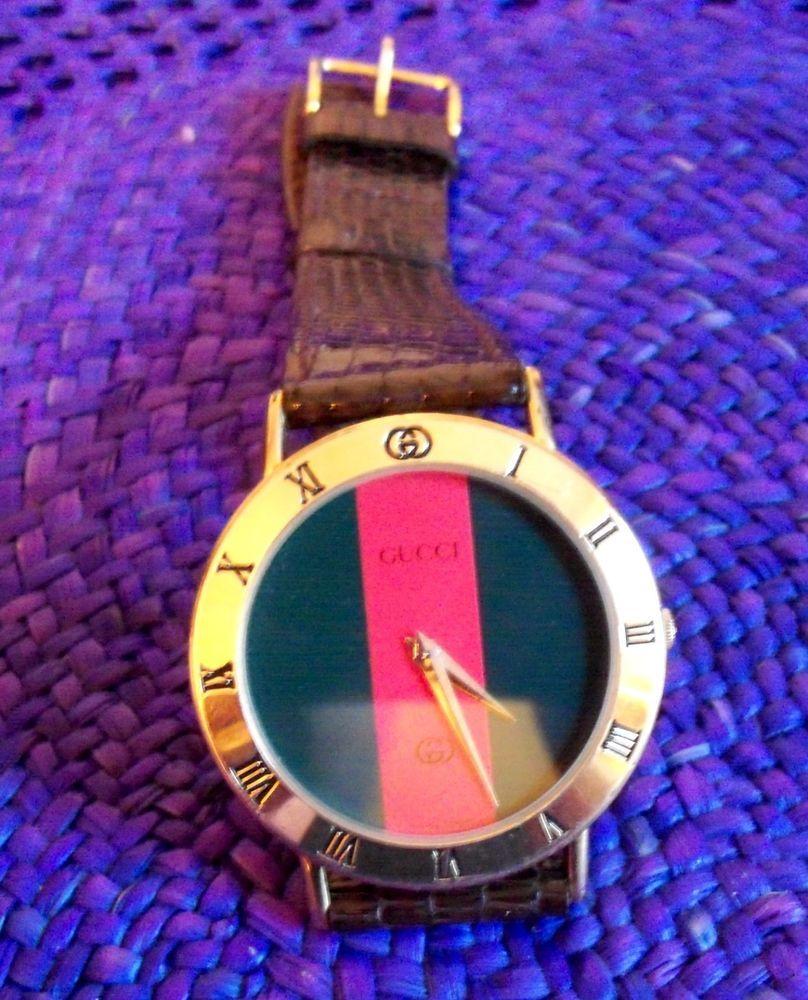 1a9b386e447 Vintage GUCCI 3000 M Mans Dress Watch. Swiss Made Quartz. L  K NR!  Gucci   LuxuryDressStyles