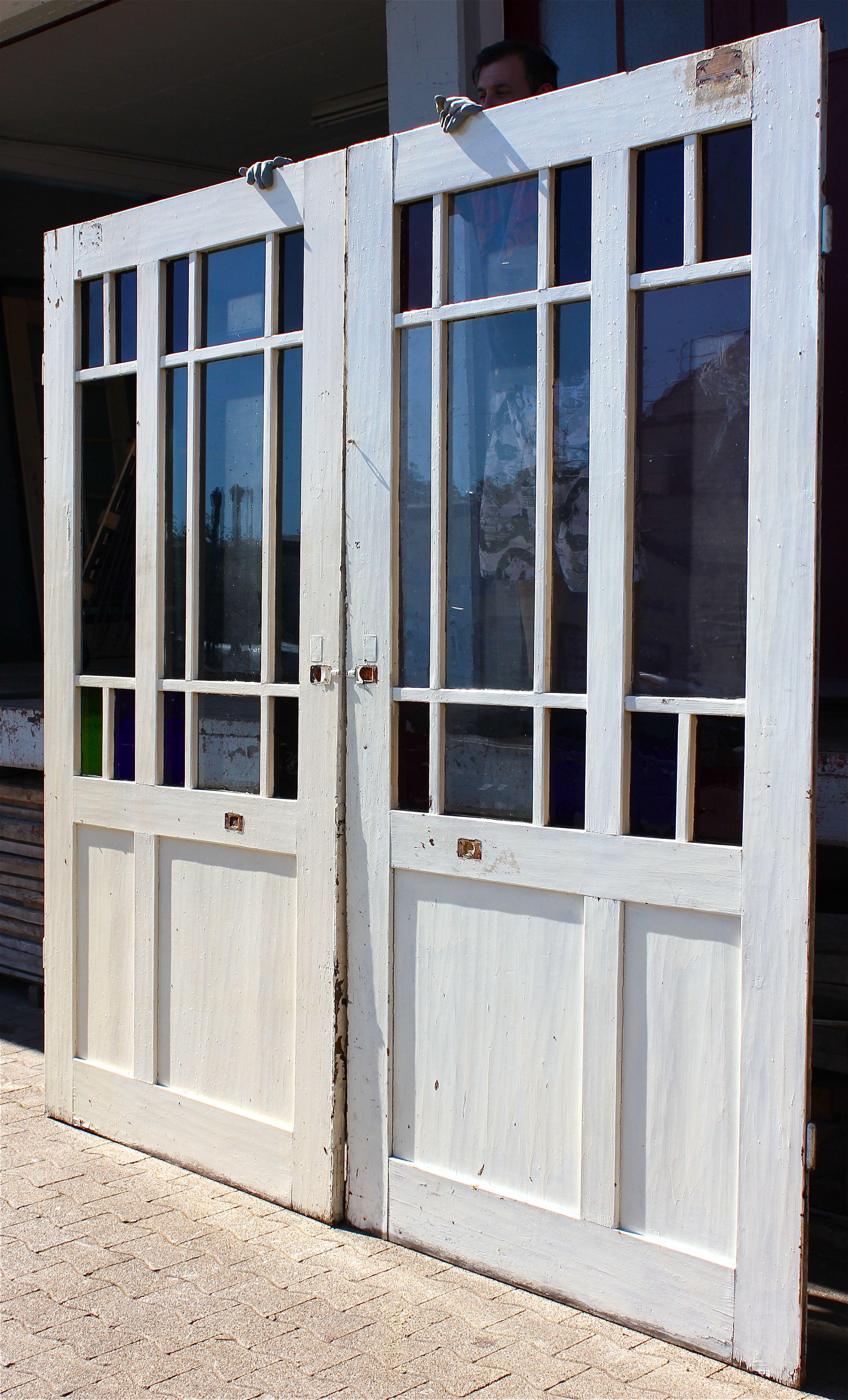 Weichholz Tur Ein Angebot Aus Der Rubrik Mehrflugelige Historische Turen Mit Grossem Glaseinsatz Alle Hohe Historische Turen Historische Baustoffe Baustoffe