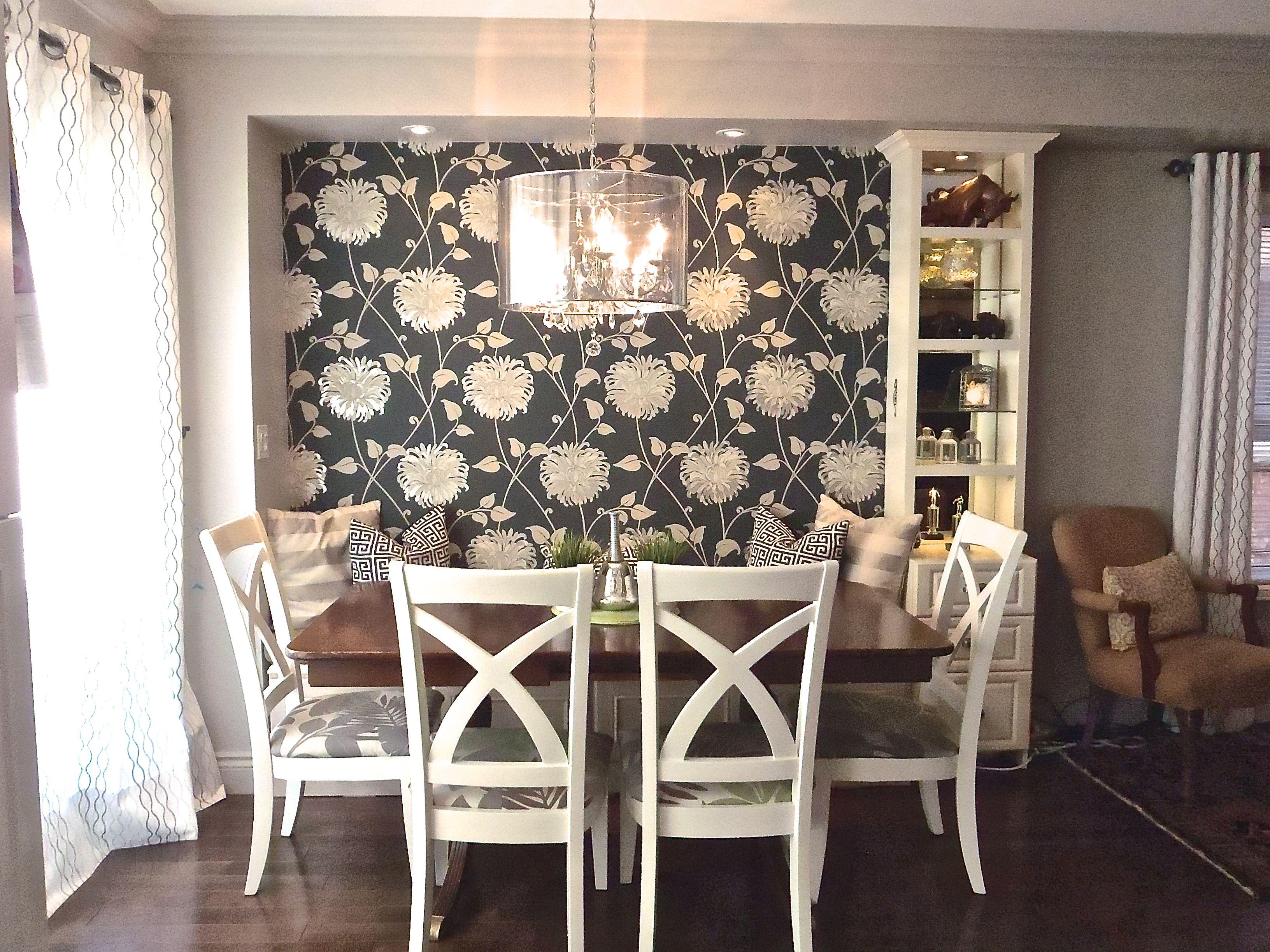 Diy kitchen banquette with a storage bench. | Kitchen ...