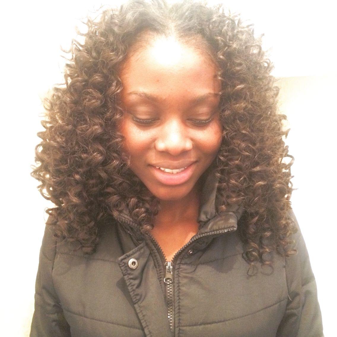Curly Sew In Ig Lesleyannne Curlysewin Sewin Hair Blackhair