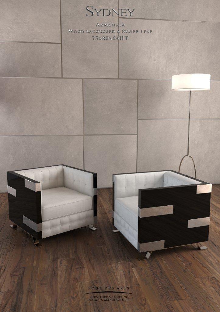 Sydney Armchair - Designer MONZER Hammoud - Pont des Arts ...