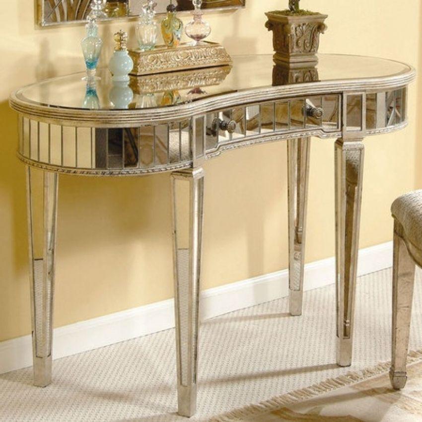 Silber Verspiegelt Schminktisch Eitelkeit Tabellen Sind