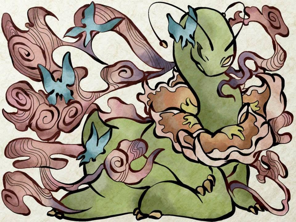 Pokemon as Traditional Japanese Art - Album on Imgur