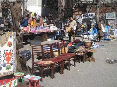 West 25th St Flea Market Street Between Broadway 6th Avenue Manhattan