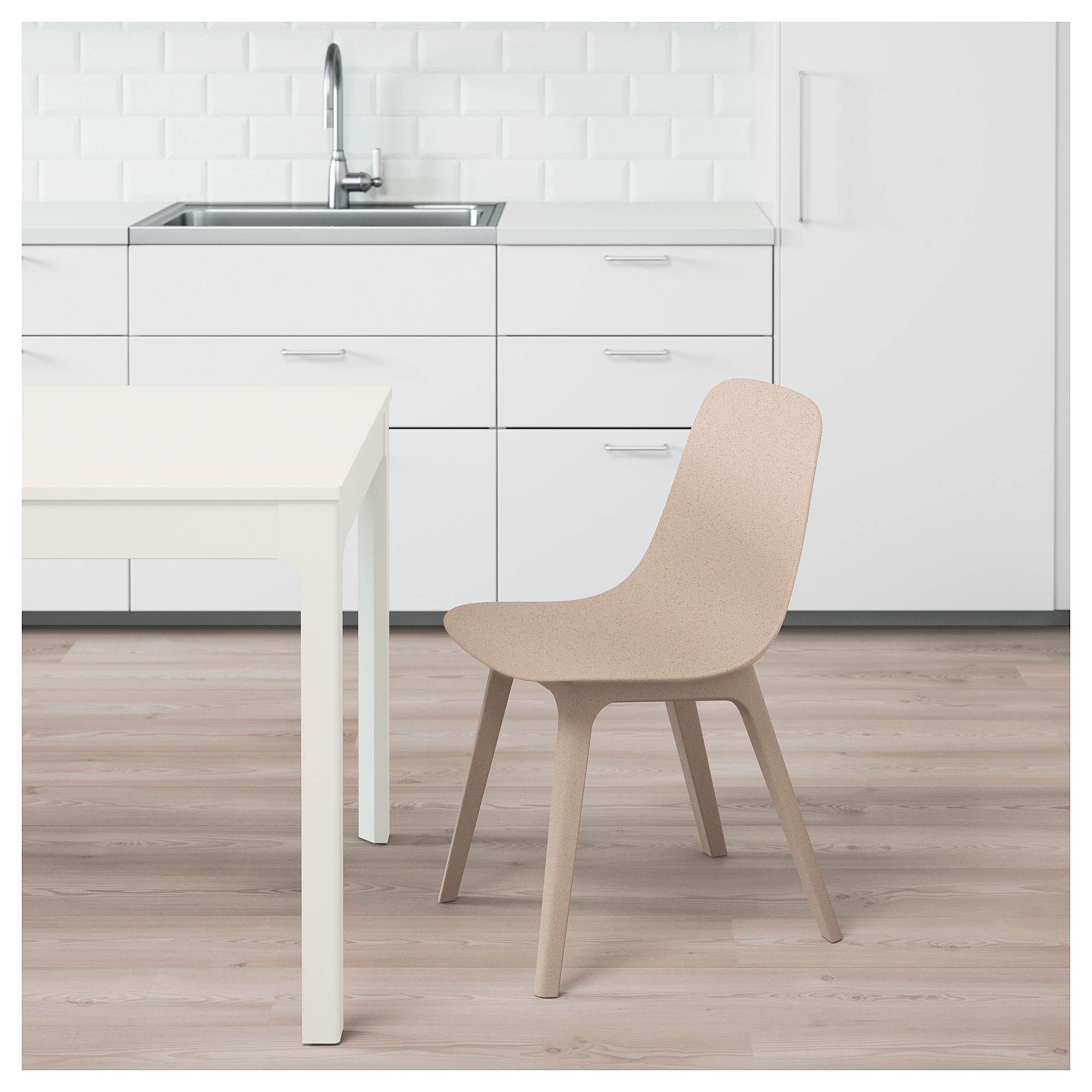 ODGER Chair white, beige Dining chairs for sale