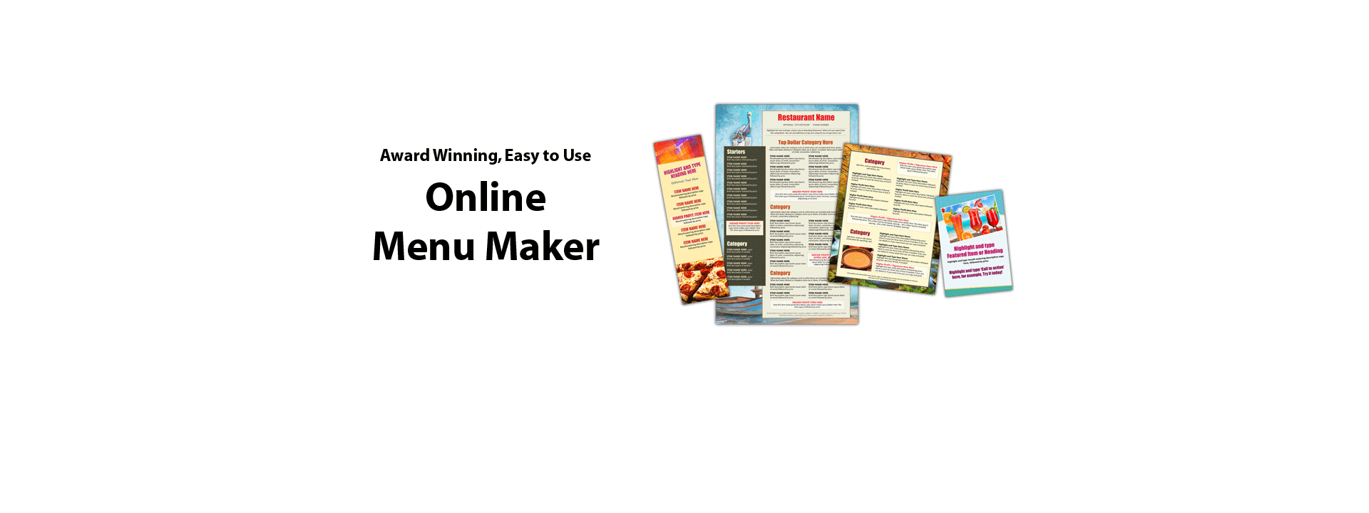 Create Your Own Restaurant Menu Templates Using Microsoft Word At Themenumaker Through Our Service You Can Design Quickly And