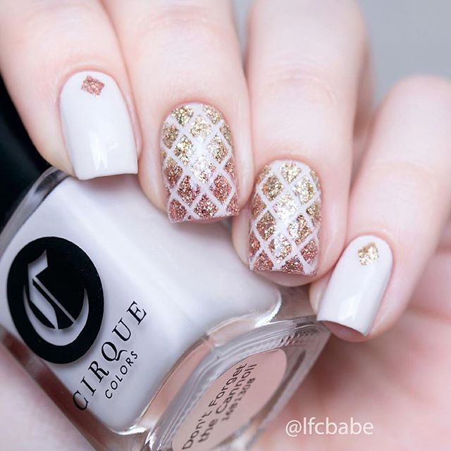 Amazing glitter nails by @lfcbabe using Whats Up Nails diamond ...