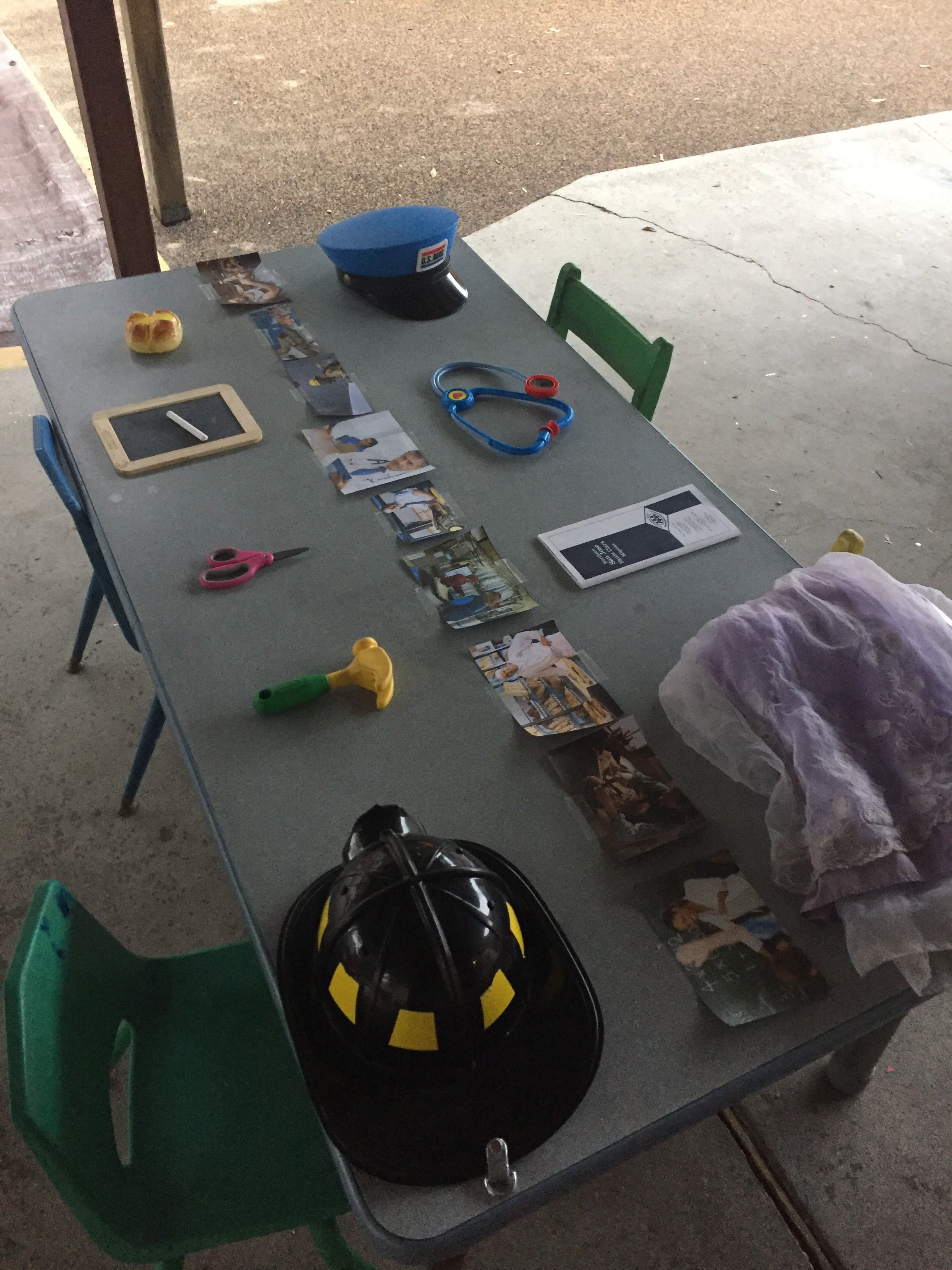 Community Helper Picture And Object Match