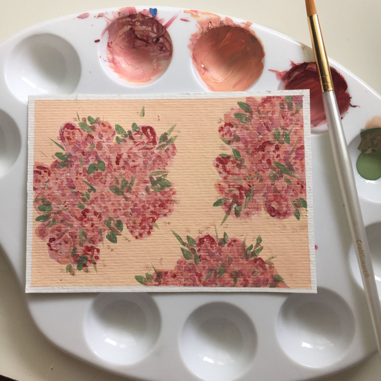 How To Painting Art Floral Painting Diy Pinterest Paintings Floral And