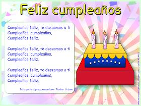 Canción Feliz Cumpleaños Aula De Español Enseñando Español Feliz Cumpleaños