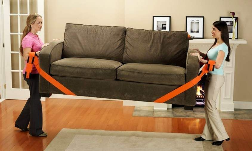 How To Move Heavy Furniture By Yourself 13 Pro Tips In 2020 Moving Straps Moving Furniture Heavy Duty Furniture