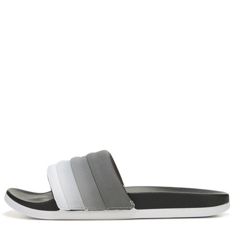 f86782fb78ff90 Adidas Women s Adilette Cloudfoam Slide Sandals (Core Black Tech Rust)