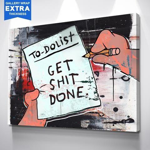 Ikonick Modern Inspirational Motivational Art Canvas Prints Ikonick Wall Art