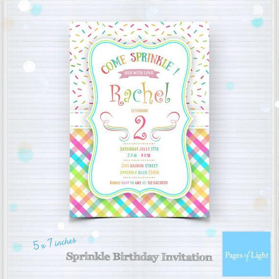 Printable sprinkle birthday invitation party by pagesoflight printable sprinkle birthday invitation party by pagesoflight filmwisefo