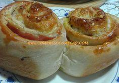 ROSCA SALGADA RECHEADA - Receitas Culinárias
