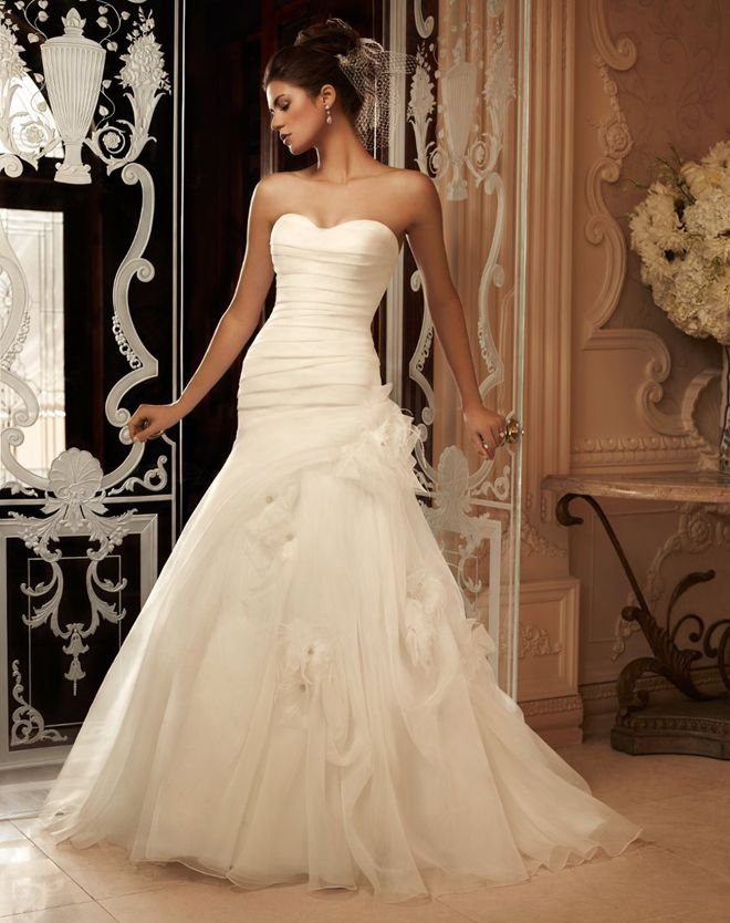 Casablanca Bridal Spring 2013 + My Dress of the Week - Belle the Magazine . The Wedding Blog For The Sophisticated Bride