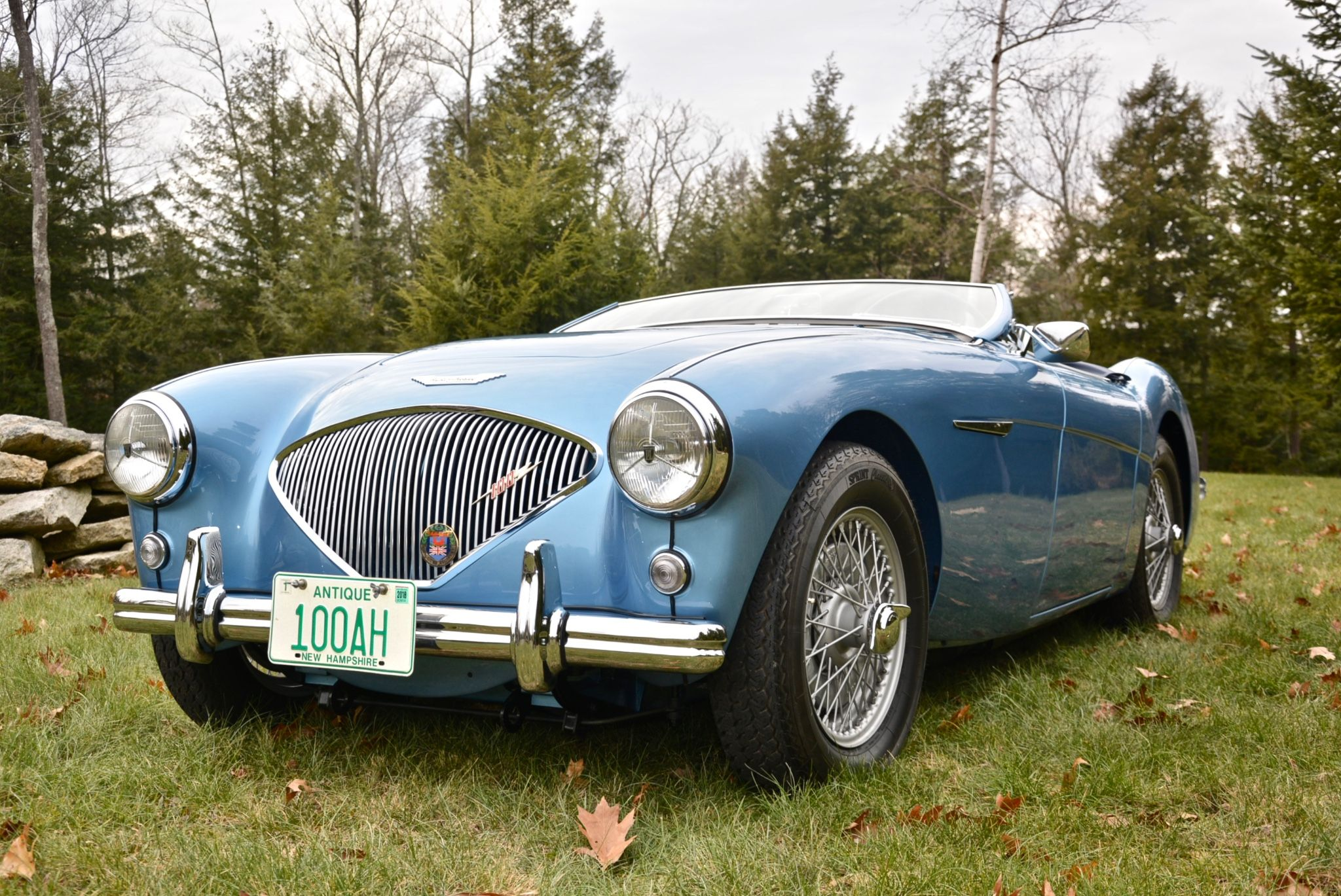 Bid for the chance to own a Restored 1955 Austin-Healey 100 BN2 ...