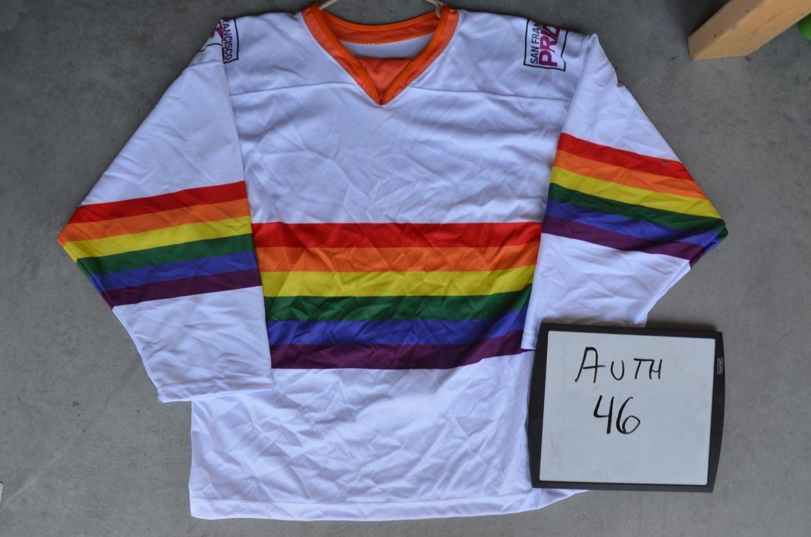 359bd06e8 Rainbow Hockey Jersey